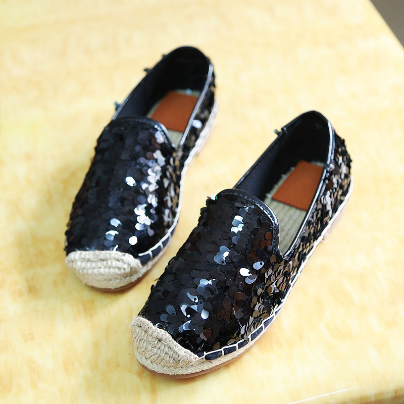 famous brand women loafers shoes bling fisherman boat shoes flats espadrilles slip on casual shoe moccasines zapatillas XK120505<br><br>Aliexpress