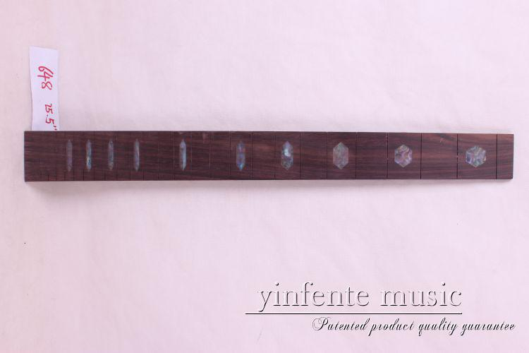 new  high Quality  1 x  25.5   Guitar Fretboard electric guitar rose  Wood Fretboard Parts 16 #  inlay<br>
