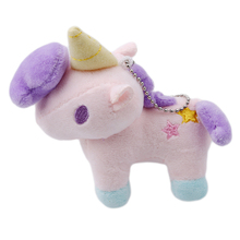 Stuffed Animals Toys Unicorn Plush Toy Baby Infant Girls Toys Animal Dolls Key Ring Birthday Gift Baby Stuffed Toy LA897274(China)