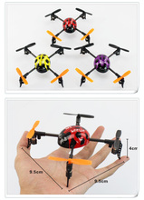 WL V939 2.4G 4 Ch 3D flight Mini LadyBird 4-axis RC UFO aircraft quadcopter 3D Mini Heli XCopter helicopter vs v911/v929 P2(China)