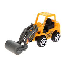 6pcs/lot Mini Car Toy forktlift Lot Vehicle Sets  Engineering Vehicle Kids's Toys Inertial Construction Machines Model Toy Gift