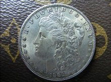 1883-CC morgan dollar silver coin(China)