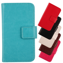 ABCTen 6 Kind Of Choose Case For DOOGEE Turbo Mini F1 4.5 With Card Slot Cell Phone Cover Flip PU Leather