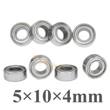 8pcs/set HSP Parts 02139 8P Ball Bearing 5*10*4mm  Himoto 31044 Baja For 1/10 RC Model Car