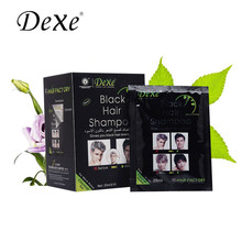 Hair Cream washing Black Hair Dye Natural Pure Black Cover Plant Natural Black Shampoo Hair Color S060 Hair Care