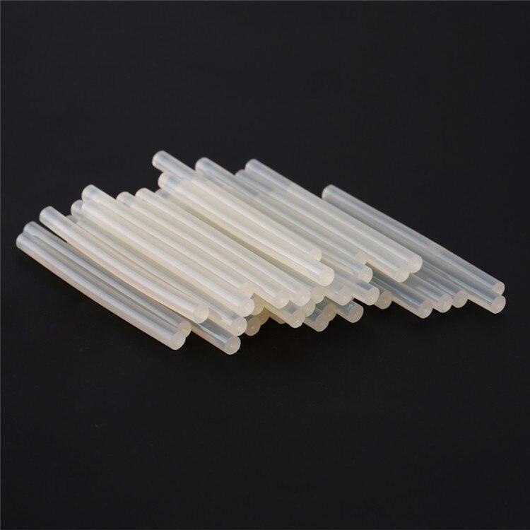 10pcs/lot 7mm100mm Hot Melt Gun Glue Sticks Plastic Sticks Translucent with adhesive Hot melt glue stick  for Glue Gun