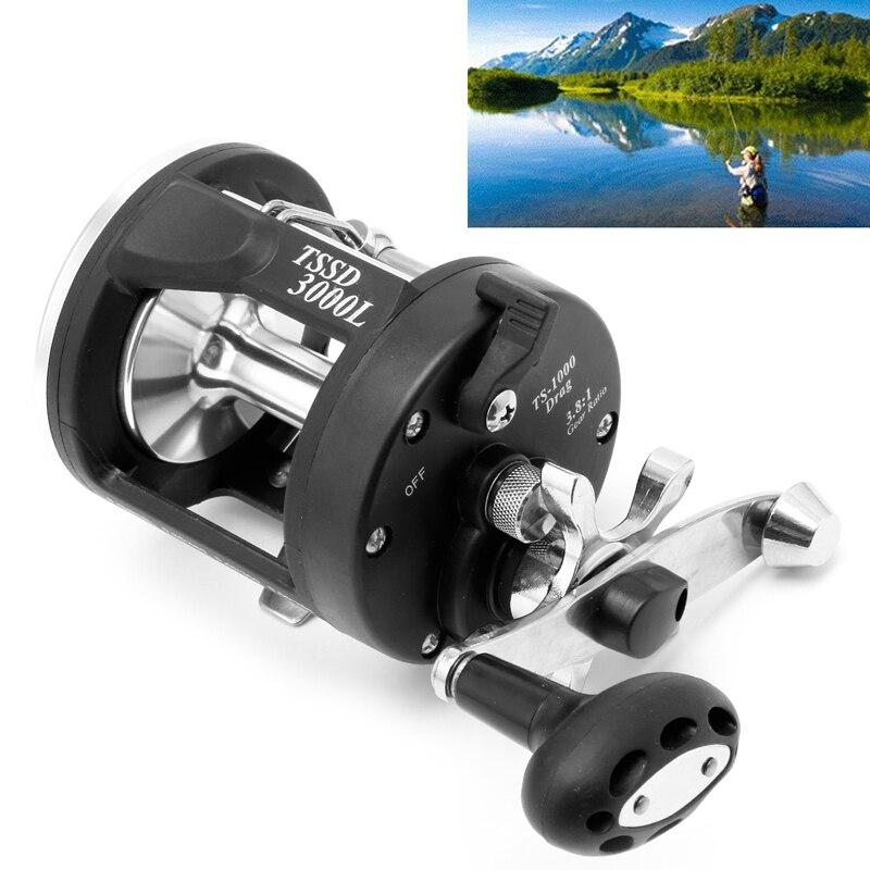 1PC Metal Fishing Tackle Gear Bait Casting Fishing Reels Black Saltwater Freshwater Reel Fishing Spinning Reels<br><br>Aliexpress