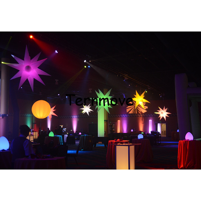 inflatable star with LED light1