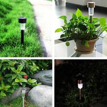 Colorful Safe and waterproof  Lawn Lamps LED Outdoor Solar Power Path Light Spot Lamp Yard Garden Lawn Landscape