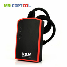 Promotio Universal Car Diagnostic Tool Wifi OBD2 UCANDAS VDM V3.9 supports auto Full Systems for WindowsPC Android Phone(Hong Kong)