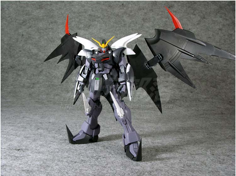 Long peaches MG 1/100 Hell Death change up assembled model PVC Action Figure Collectible Toy  20CM<br>