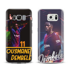 Ousmane Dembele 11 Logo Phone Case Cover Shell For Samsung Galaxy S4 S5 S6 S7 Edge S8 Plus Note 8 2 3 4 5 A5 A7 J5 2016 J7 2017(China)
