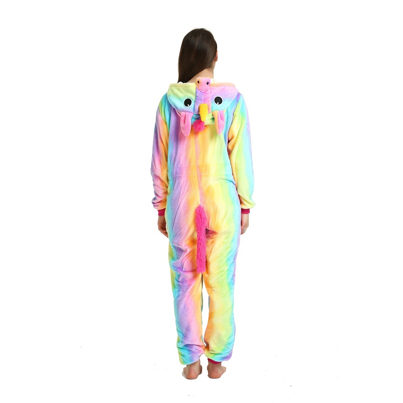 Cute-women-rainbow-hooded-long-sleeve-unicornio-Adult-women-sleepwear-animal-unicorn-pajamas (4)