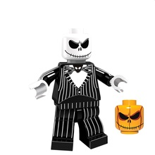 Building Blocks Single Sale PG1072 Halloween The Horror Theme Movie Jack Skellington Jeepers Creepers Ring Children Gift Toys