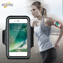 KISSCASE Men Women Exercise GYM Arm Band Case For iPhone 6 6S 6 Plus 6S Plus Waterproof Running Pouch For iPhone 6 Plus Cover