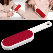 1Pc Clothes Dusting Static Brush Two-sided Hair Remover Tearing Cleaning Tool Brand New(China)