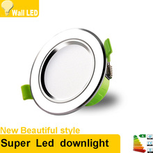 Super Bright LED Downlight 3W 5W 7W 9W 12W 15W 18W 21W 220V 230V Led Ceiling Recessed Downlight lamp bulbs Spot light lighting(China)