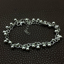 Wholesale Little Bell Anklet Bracelet Rose Gold Titanium Steel Women Girl Lover Barefoot Anklet Fashion Foot Chain Jewelry