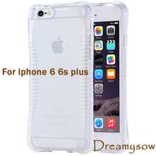 For iphone 6 6s Plus Phone Back Cover Popular Protective Transparent Soft TPU Cases Silicone Balloon Waistline Shell