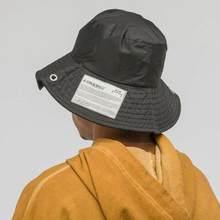 2019 últimas Japón F W Hip hop hombres mujeres ACW A-COLD-WALL sombreros  sombrero de pescador de ACW etiqueta sombrero negro cal. 7cadf384286