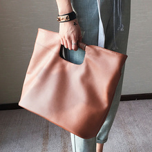 Casual Women's handbags with short handles Large capacity Shoulder messenger bag for lady big Totes Shopping Bag black Brown