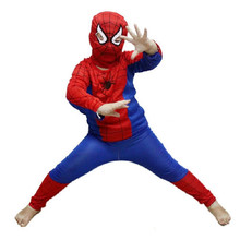 Free Shipping Party Supplies Spiderman Halloween Costume For Kids Children S/M/L Christmas Costume Instyles