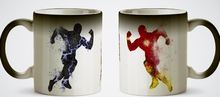 The Flash mugs Zoom mugs heat reveal heat sensitive mug magic tea cups coffee