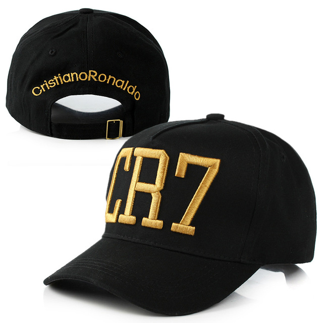 2016 New Fashion Cristiano Ronaldo CR7 Baseball Caps Hip Hop Sports Snapback Football Hat Chapeu De Sol Swag For Men And Women<br><br>Aliexpress