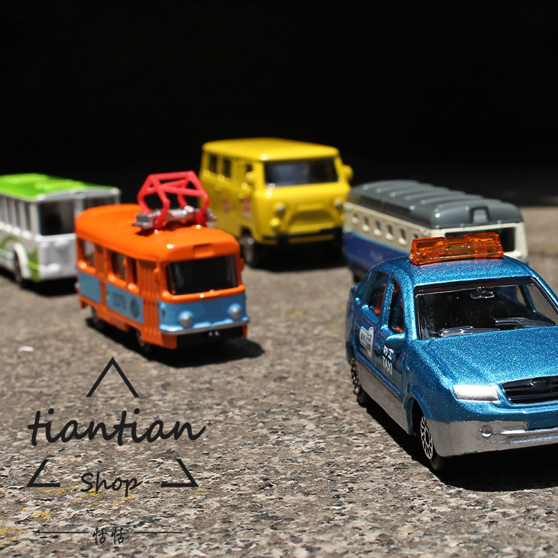 1:64 Alloy car model kids toys City series 5pcs Taxi tram Motor car Bus school bus Children like the gift Family Decoration(China (Mainland))
