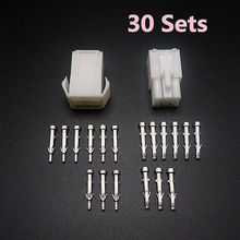 30 Sets Adapt Connector Nine Ways EL4.5mm High Quality Mini Tamiya Connector