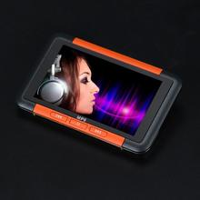 "2017 Fahsion 8GB Slim Digital MP3 MP4 Player 4.3"" LCD Screen Music FM Radio Video Games Movie With Earphones Support Wholesales(China)"