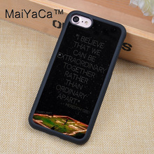 MaiYaCa Greys Anatomy Quotes Soft Rubber Mobile Phone Cases Accessories For iPhone 6 6S Plus 7 7 Plus 5 5S 5C SE 4S Cover Shell(China)
