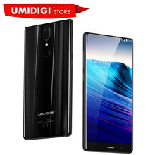 Presale UMIDIGI Crystal Metal frame Unlocked New Smart Mobile Phone MTK6750T Octa-core 5.5 inch 4GB RAM 64GB ROM Smartphone