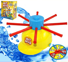 New Wet Head Hat Water Game Challenge Wet Jokes & toy funny Roulette Game toys Gags & Practical Jokes Funny Toy Trcik People