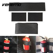 5Pcs/Set Fire Extinguisher Bandage Car Fixed Belt Bracket Sticker Straps Strong  Magic Tape Car Styling Universal