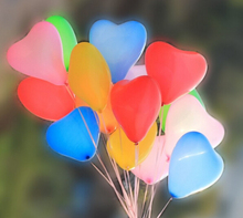 M Whole SALE 20pcs/lot 10inch Latex Heart Balloons Wedding Christmas Party Birthday decoration ballons Inflatable Float Toys