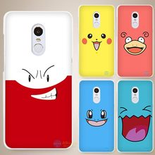Best Pokemons Hard White Cell Phone Case Cover for Xiaomi Mi Redmi Note 4 Pro 4A 4C 4X 5X 5 6