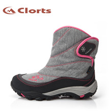 2016 Women Hiking Boots SNBT-203 Winter Boots Hiking Sneakers for Women Waterproof Sport Outdoor Shoes