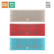 Xiaomi Mi MP3 colorful bluetooth speaker wirless Stereo metal portable high quality sound tone microphone handsfree music player
