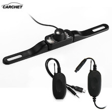 CARCHET Car Rearview Camera+2.4GHz Wireless Transmitter Receiver Night Vision Back Camera for GPS