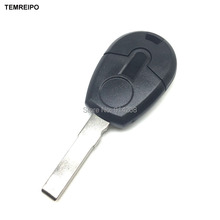 20pcs/lot car key New style uncut car key blank for fiat transponder key cover fob fiat replacement chip key case with logo