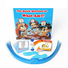 What Am I? The Quick Question Game That Everyone Knows But You! Home Parent-and-Child Family Games guess game Novelty toys(China)
