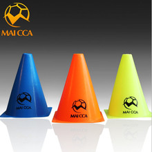 MAICCA 10Pcs inchMultipurpose Sport Football Training Traffic Cones Activity Cones for Kid and Adult equipment 18cm(China)