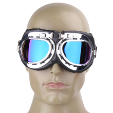 Buy Retro Motorcycle Goggles Harley style Glasses Goggles Scooter Goggle Glasses Cycling Eyewear Outdoor Cycling Equipment for $2.63 in AliExpress store