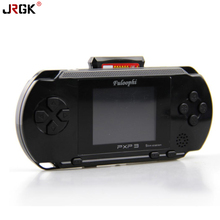 JRGK Video game PXP3 Player Slim Station Pocket Game Kids 16-BitHandheld Game Console+ Game Card Birthday Gift Children