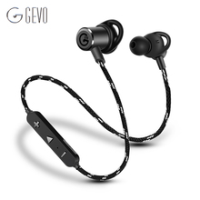 GEVO GV-18BT Wireless Headphone Bluetooth Sport In ear Magnetic Stereo Bass Waterproof Headset Earbuds Earphone For Xiaomi Phone(China)