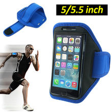 For iPhone 6 SPORT GYM Arm band Bag Case For Samsung Huawei Xiaomi Jogging Arm Band Mobile Phone Belt Cover Cellphone 5.5 inch