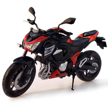 1:12 Emulation Alloy Motorcycle Toys KAWASAKI Z800 Motorbike Model Toys For Collection