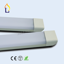 60pcs/lot Led clean purification tube light 2FT/18W 3FT/28W 4FT/36W 5FT/48W led flat batten light AC100-277V PF:0.9 wall lamp