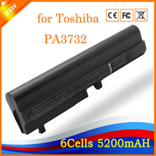 10.8V 5200mAh 6cell Original New Laptop Battery for Toshiba PA3732 Black(China)